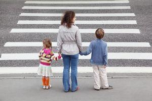 Безопасность пешеходов — учите своих детей