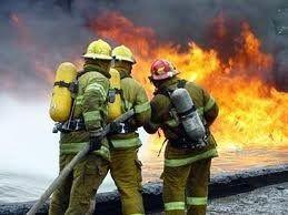 Снова добровольные пожарные из Пензенской области помогают профессионалам