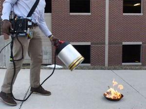 Несколько инновационных противопожарных технологий