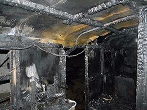 Охранник сгорел на работе из-за не соблюдения правил пожарной безопасности