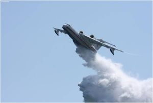 Пожар в Оренбургской области