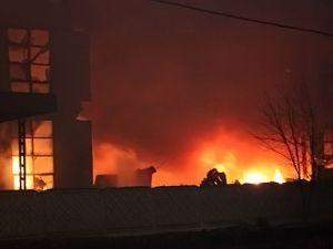 Пожары на предприятиях Ленинградской области