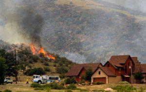 Пожары в Колорадо