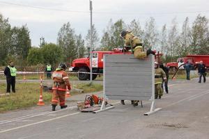Пожарный биатлон в Ивановской области