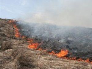 Степные пожары в Хакасии