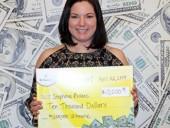 Безработная американка дважды выиграла в скретч-лотерею