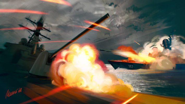 Шанс столкновения флотов США и России вырос «в тысячи раз»