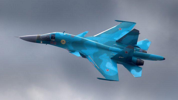 Столкновение двух авиабомб в воздухе удалось снять на фото