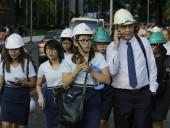 В сети появилось видео землетрясения на Филиппинах
