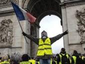 В Париже во время протеста