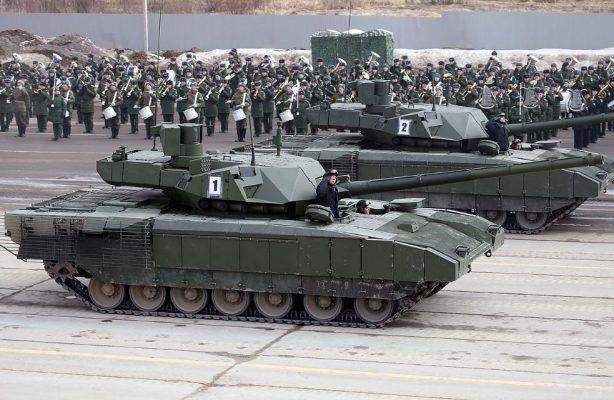 Мощный, маневренный и живучий: эксперты США оценили «революционную конструкцию» российского Т-14