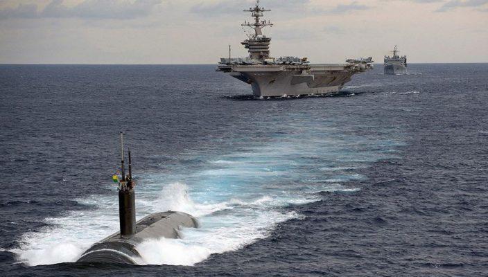 Угрозы США в адрес России двумя авианосцами — ультиматум Вашингтона