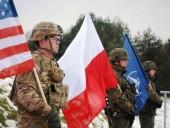 США и Польша обсудили укрепление восточного фланга НАТО за счет американских войск