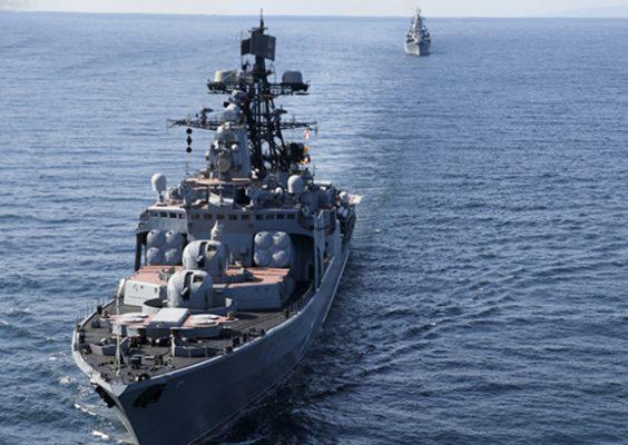 Шахназаров с иронией ответил на заявление Латвии о приближении военных кораблей России