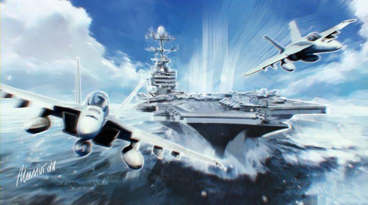 В Европе назвали «безжалостные» авианосцы США «стотысячетонным блефом»