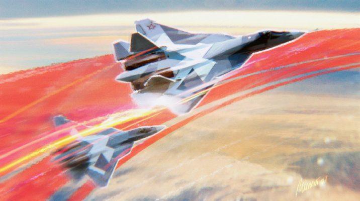 Первый серийный Су-57 поступит на вооружение ВКС РФ до ноября