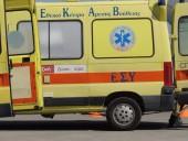 Полицейский автобус с заключенными перевернулся в Греции
