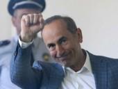 Суд освободил из-под ареста экс-президента Армении