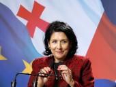 Президентка Грузии: мы с удовольствием займем место Великобритании в Евросоюзе