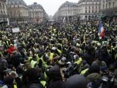Во Франции в акции