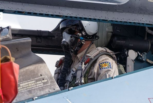 Перехват американского беспилотника MQ-9 Reaper попал на видео