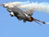 На авиабазе в Калифорнии разбился F-16