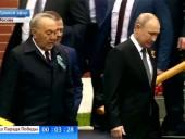 Назарбаев приехал к Путину на парад