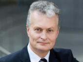 На выборах президента Литвы лидирует экономист и преподаватель Науседа с 74% голосов