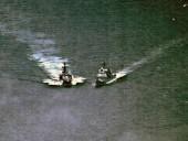 ВМС США и РФ обменялись обвинениями против друг друга после опасных маневров на море