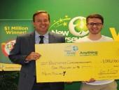 В Америке студент колледжа выиграл 1 млн долл. в лотерею