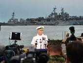 ВМС США прояснили историю с сокрытием от Трампа эсминца John McCain