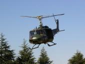 В Токио военный вертолет разбился при посадке