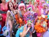 В Нью-Йорке прошел парад русалок