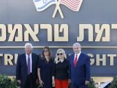 Израиль назвал поселения на Голанских высотах в честь Дональда Трампа