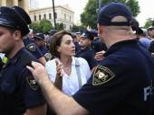 МИД РФ прокомментировал антироссийские протесты в Грузии