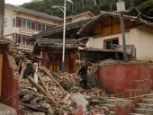 В Китае произошло еще одно мощное землетрясение