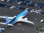 Boeing разместил невостребованные самолеты на парковке своих сотрудников