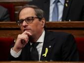 Глава Каталонии призвал правительство Испании