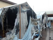 В Хабаровском крае РФ сгорел детский палаточный лагерь, один ребенок погиб