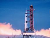 Телеканал CBS к 50-летию высадки на Луну опубликовал оригинальный прямой эфир старта ракеты