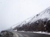 На Магадане выпал снег