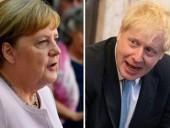 Джонсон обсудил с Меркель соглашение по Brexit и выдвинул условие