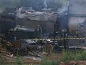Число жертв при падении военного самолета в Пакистане возросло до 18 человек