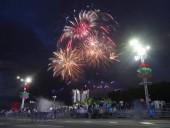 Опубликованные видео взрыва на салюте ко Дню Независимости Беларуси