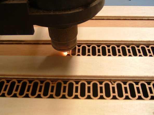 Услуги высокоточной лазерной и фрезерной порезки