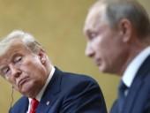 Трамп сообщил о переговорах с Путиным и Китаем о новом ядерном соглашении