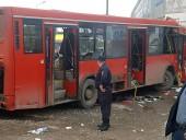 Число пострадавших после того, как автобус в РФ врезался в здание, возросло до 32 человек