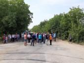 Протестующие в Молдове заблокировали национальную трассу