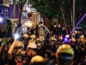 Полиция Гонконга арестовала 29 человек после ночных столкновений