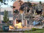 В США из-за взрыва газа разрушен часть торгового центра